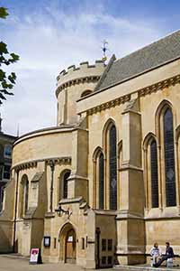 The Temple Church in the City of London - Built by the Knights Templar in the 12th Century